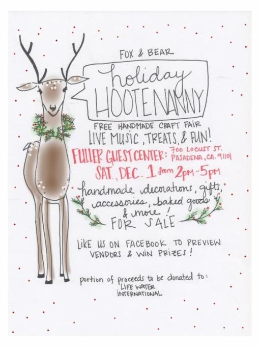 The Hootenanny is Coming!